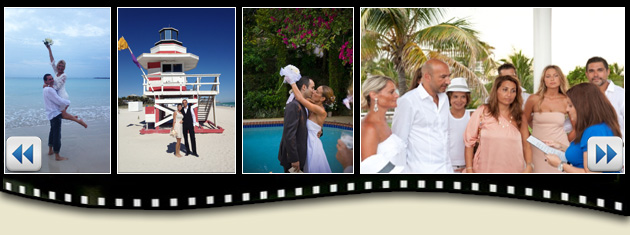 Civil Marriage in Miami, Florida